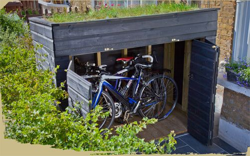 Shed Plans - bike shed - Now You Can Build ANY Shed In A Weekend Even If You've Zero Woodworking Experience!