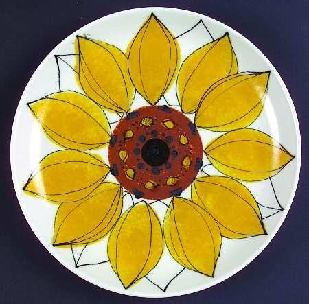 Arabia of FinlandSun Rose at Replacements, Ltd