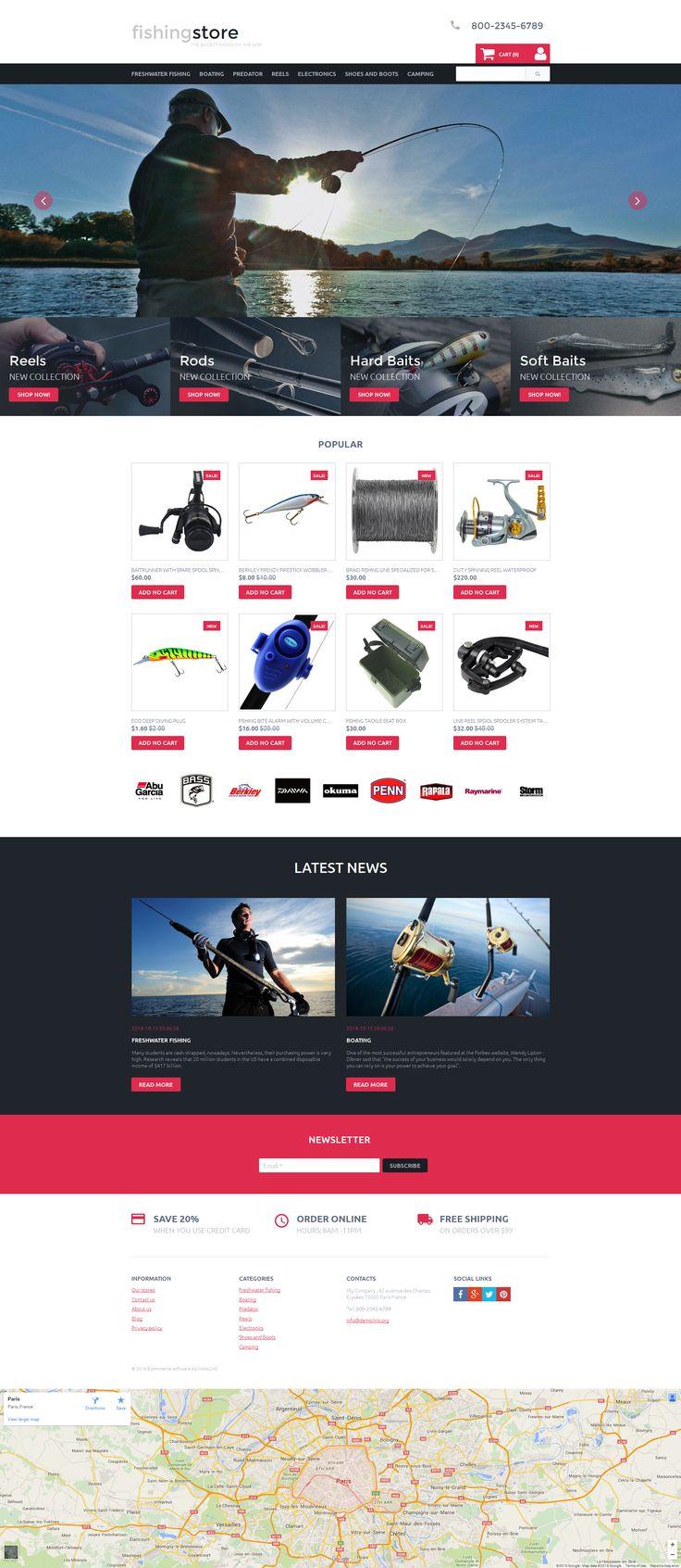 Fishing Responsive MotoCMS Ecommerce Template #58488 http://www.templatemonster.com/motocms-ecommerce-templates/fishing-responsive-motocms-ecommerce-template-58488.html