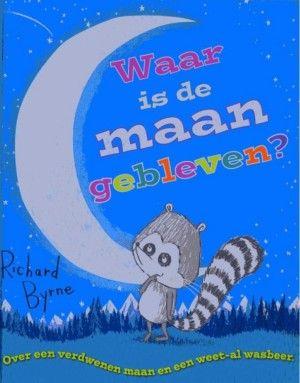 Waar is de maan gebleven ? van Richard Byrne is een humoristisch verhaal waarin een betweter op zijn plaats wordt gezet. Leerrijk, mooie illustraties en gezellig om voor te lezen!