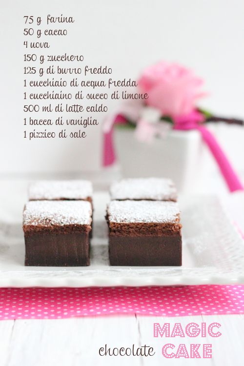 Torta magica al cacao | Dolce Salsarosa