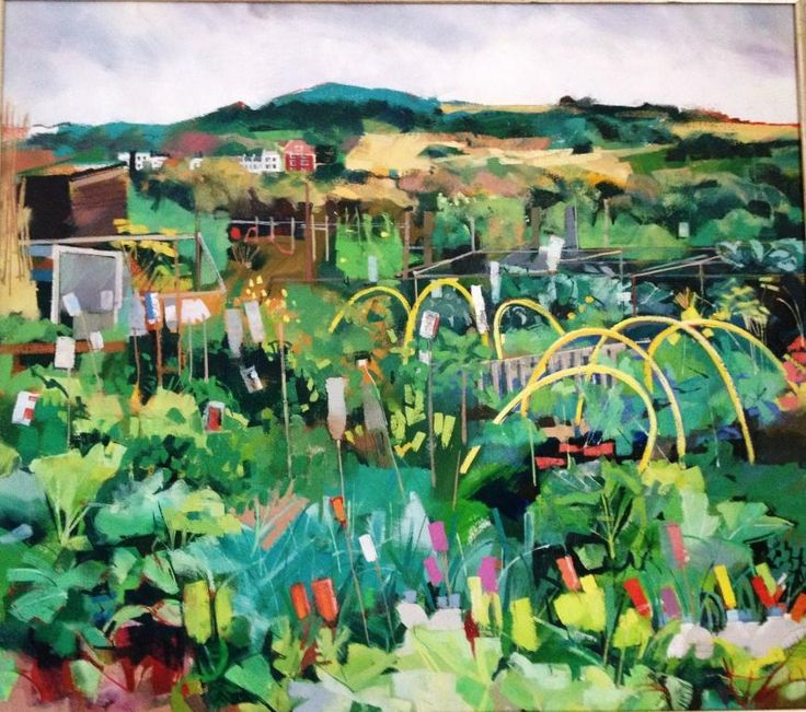 Louis Turpin: West Hill Allotments, Hastings