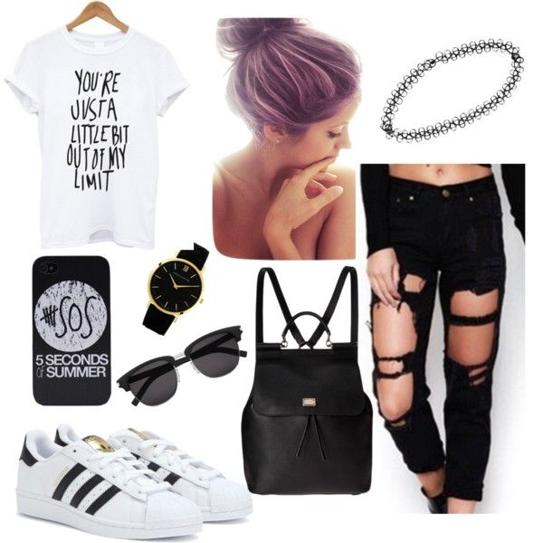 loveit by luvjb00 on Polyvore featuring polyvore fashion style adidas Dolce&Gabbana Larsson & Jennings Boohoo Yves Saint Laurent