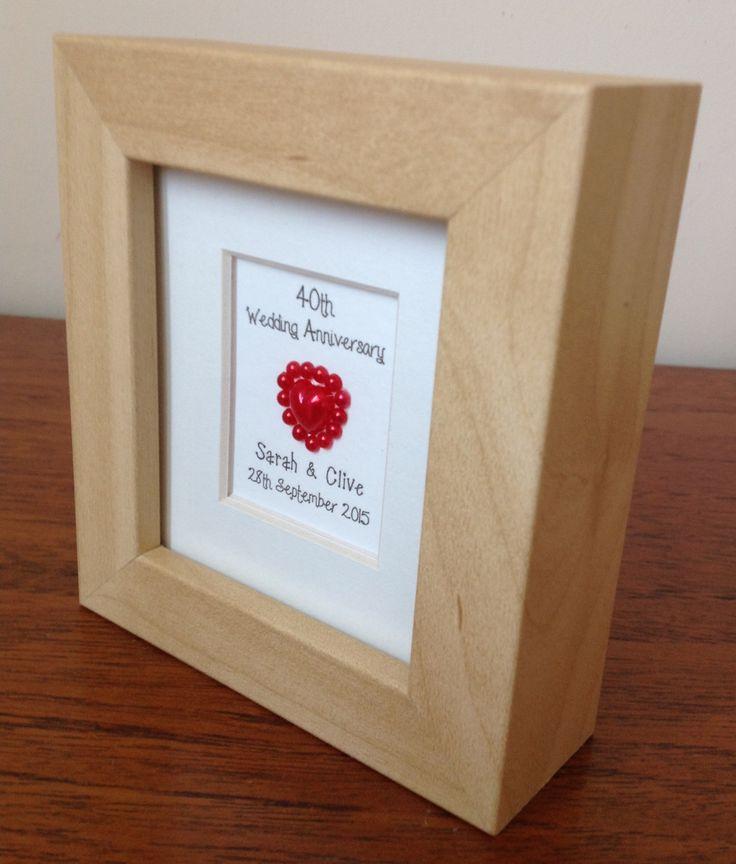 Ruby Wedding Anniversary Gifts Uk: 17 Best Ideas About Ruby Wedding Anniversary Gifts On