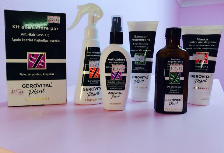 Gerovital products