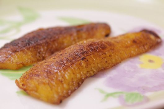 Banana da terra frita