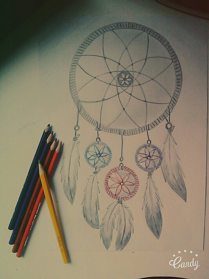 Dreamcatcher drawing :)