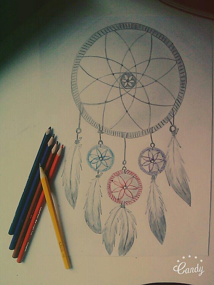 Dreamcatcher drawing :)