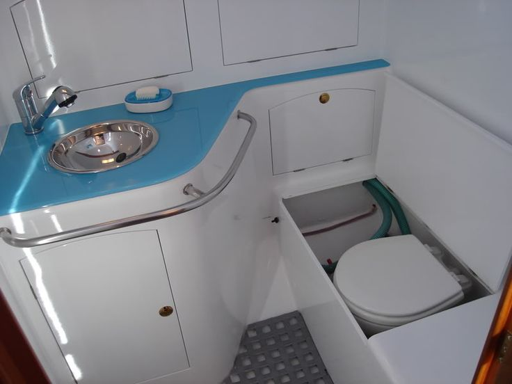 33 best images about boat bathrooms on pinterest toilet for Small galley bathroom ideas