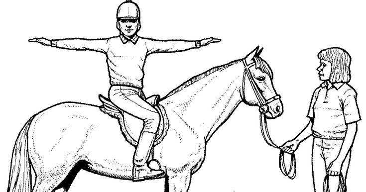 Ausmalbilder Pferde Mit Reiterin Ausmalbilder Pferde ...