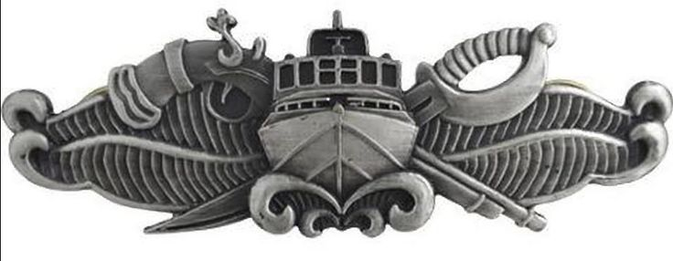 Naval Special Warfare Combatant Craft Crewman regulation Oxidized finish