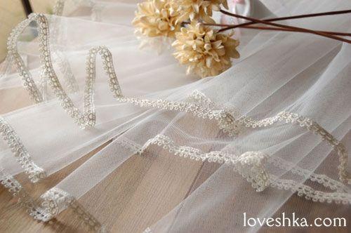 ヴェール / ベール / veil / 結婚式 / wedding / オリジナルウェディング / プティラブーシュカ / トキメクウェディング