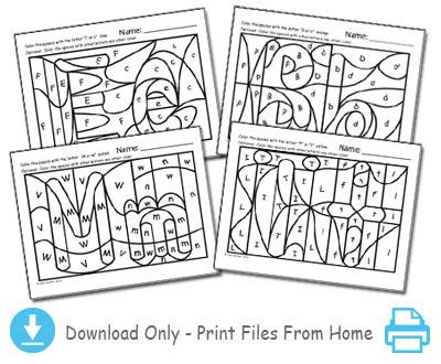 Hidden Alphabet Worksheets - Heidi Songs - Sing-Along Songs that Teach!