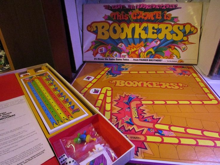 This Game is Bonkers! Board Game Parker Brothers First Edition 1978 Complete #ParkerBrothers