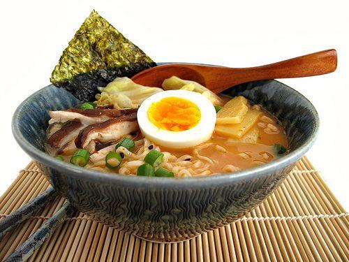 Spicy Miso Ramen Noodle Soup | Asian Recipes | Pinterest