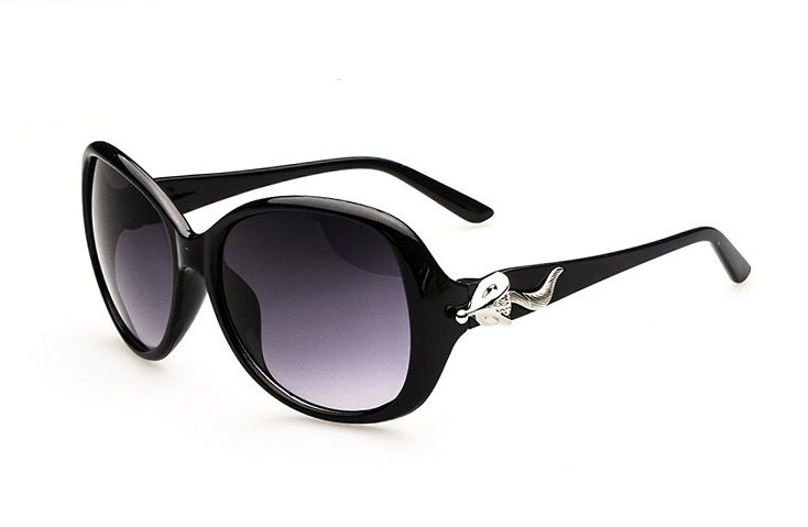 New arrival 2014 fashion logo women and men Retro sunglasses Metal Frame sunglaese black sun glass 9.75
