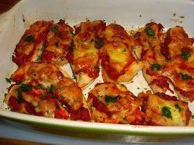 Recepten Fabriek - Wij maken de lekkerste recepten: Pittige Kipfilet a la Pizzaiola