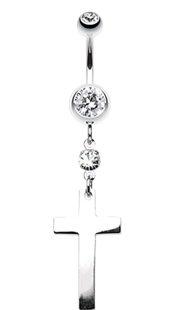 26 Best Cross Belly Rings Images On Pinterest  Belly -1482