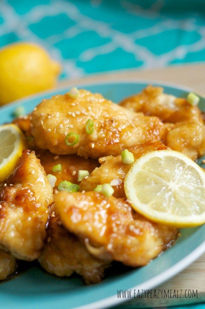 Asian Lemon Chicken - Eazy Peazy Mealz