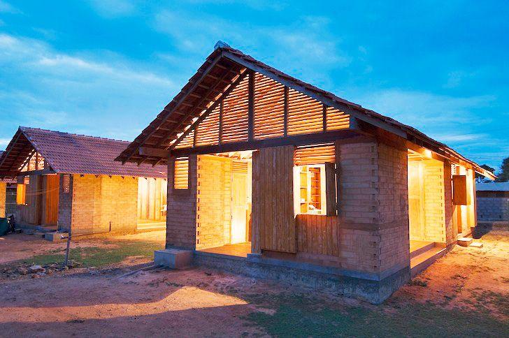 Shigeru Ban's Kirinda Housing Project Helps a Sri Lankan Village Swept Away by the 2004 Tsunami | Inhabitat - Sustainable Design Innovation, Eco Architecture, Green Building