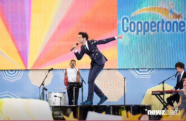3 juillet 2015 Mika fait un concert dans le Central Park à New York pour l'émission matinale Good Morning America.
