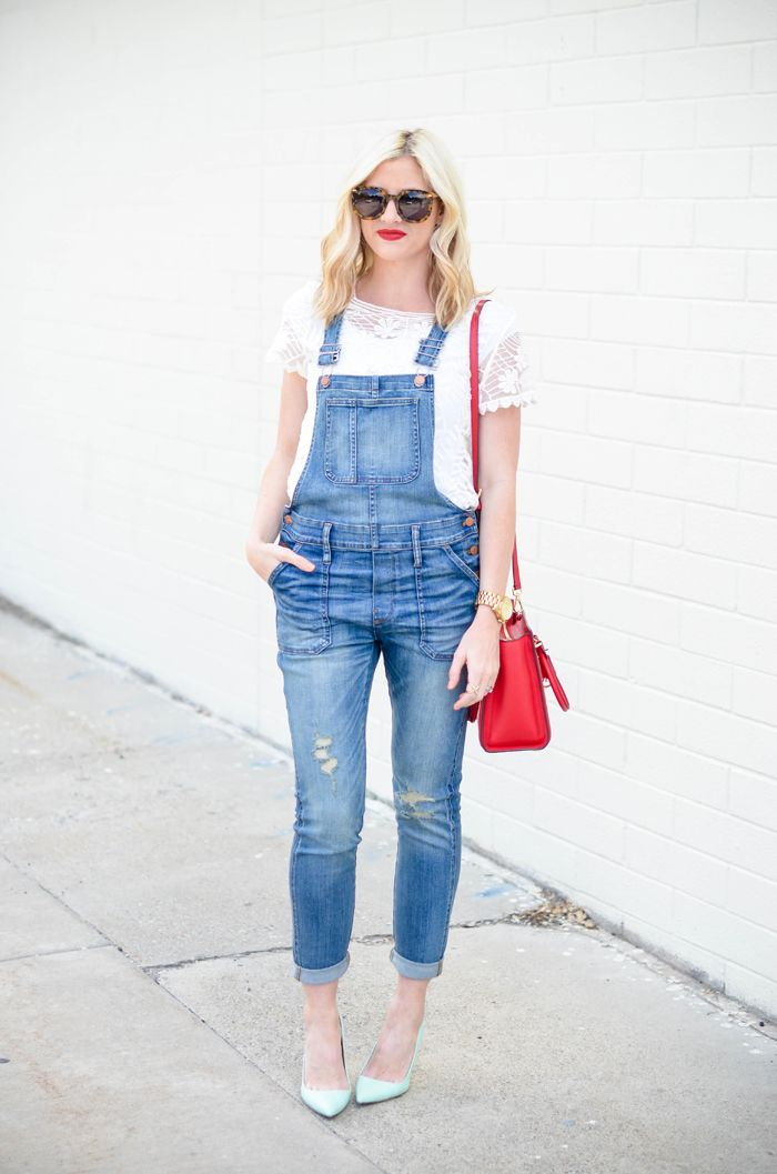 What to Wear With Denim Overalls