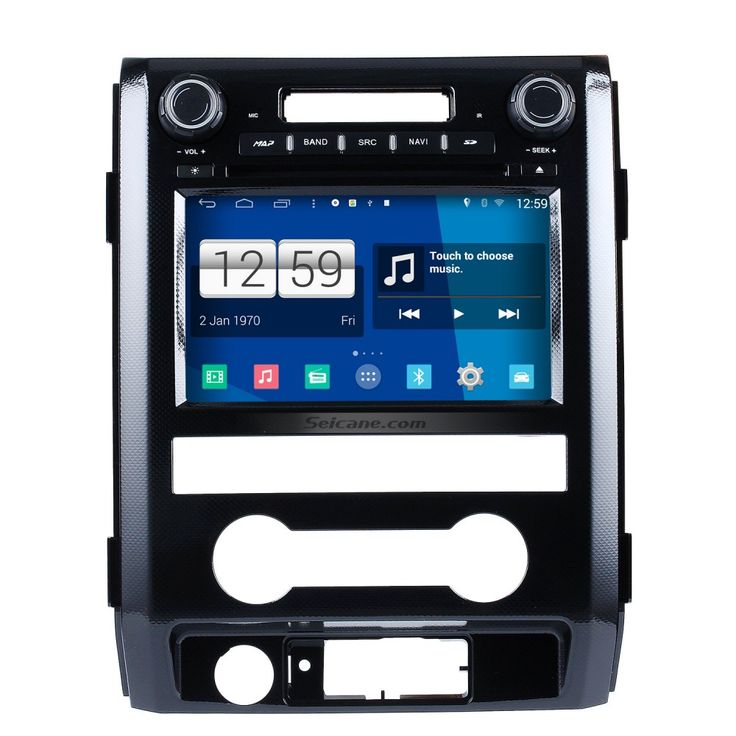 Seicane S09222 2009-2012 Ford F150 Android 4.4.4 Touch Screen DVD Player GPS Navigation system Radio OBD2 Bluetooth Mirror link DVR TV Video CANBUS WIFI USB SD Steering Wheel control Backup Camera Quad-core CPU