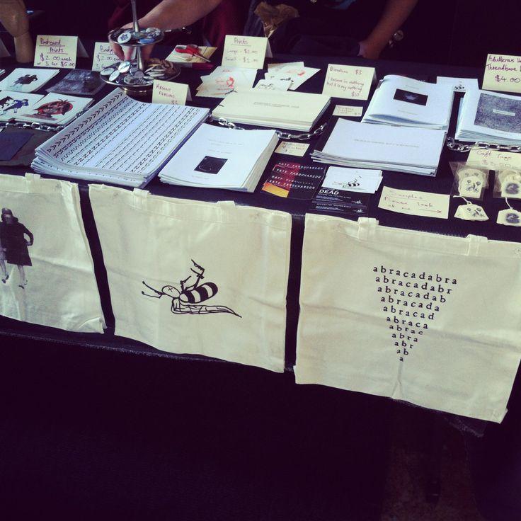 MCA Zine Fair 2013.