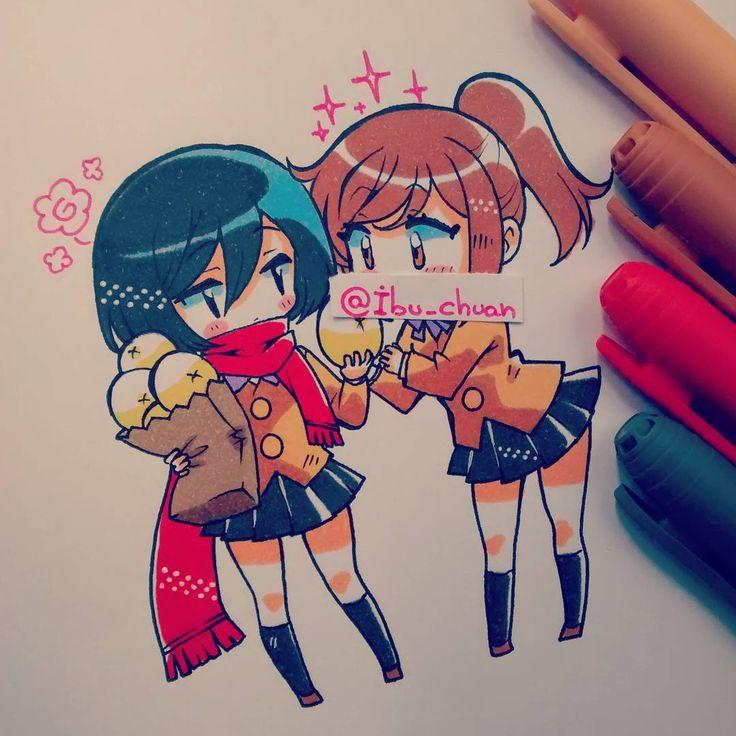 Michoza y sasha casual, comiendo panes de carne  Si, le censuré la boca, a ver…
