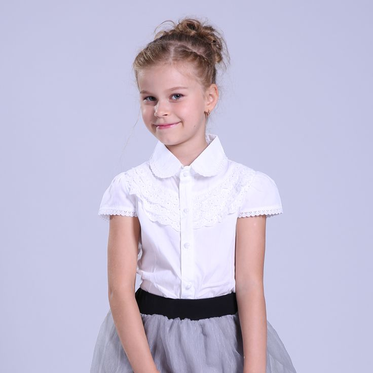 Big Girls White Blouse Cotton Lace School Girl Blouse For Girls Shirts Kids Clothes School Uniforms 6 7 8 9 10 11 12 13 14 Years #>=#>=#>=#>=#> Click on the pin to check out discount price, color, size, shipping, etc. Save and like it!