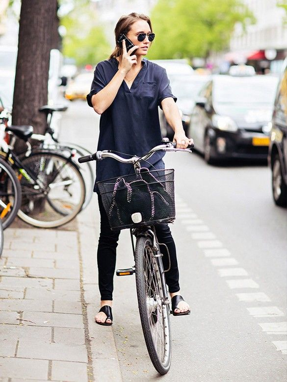The 19 Pieces You Need For A Stylish Bike Ride via @Who What Wear