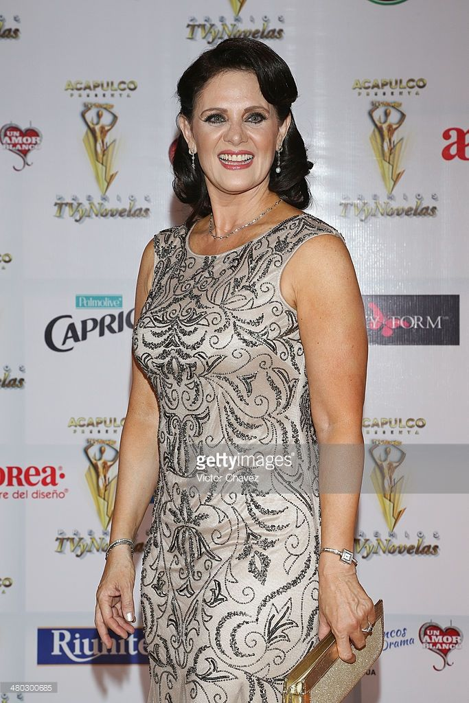 Erika Buenfil attends the Premios Tv y Novelas 2014 at Televisa Santa Fe on March 23, 2014 in Mexico City, Mexico.