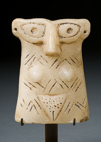 Stone Idol, female, Ancient Near East,  3rd millennium B.C.E.