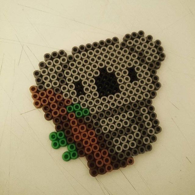 Koala hama beads by dave.mcbride                                                                                                                                                                                 More