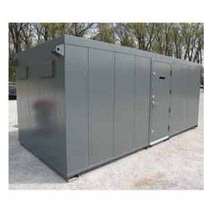 FULLY WELDED Tornado Shelter 10'x8' for 1-16 people, built in accordance with FEMA Standards (COMMUNITY STORM SHELTER)