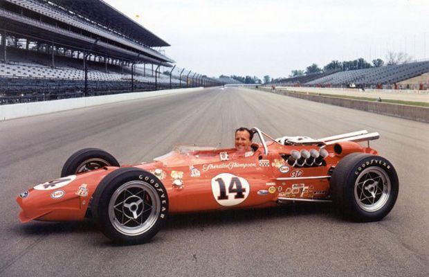 Indy 500 winner 1967: A.J. Foyt  Starting Position: 4  Race Time: 3:18:24.220  Chassis/engine: Coyote/Ford
