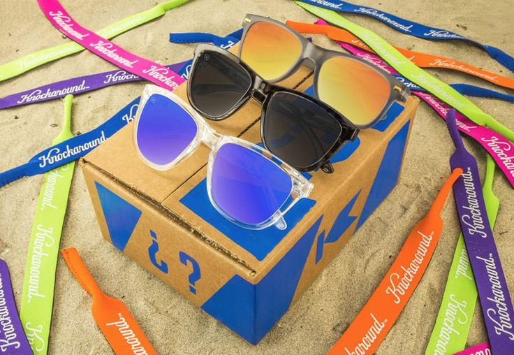 Knock Box is back – mystery box from Knockaround Sunglasses.   Knock Box: Knockaround Sunglasses Mystery Box Available Now! →  http://hellosubscription.com/2017/03/knock-box-knockaround-sunglasses-mystery-box-available-now/ #KnockBox #Knockaround  #subscriptionbox
