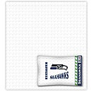 100% cotton Seahawks sheets for $69.99. What a deal!