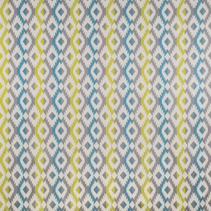 Warwick Fabrics : ECUADOR, Colour LAGOON