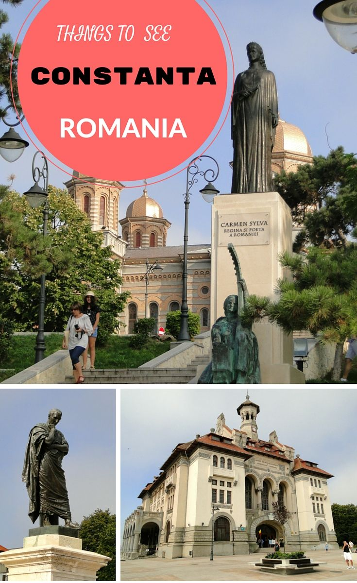 check out my sightseeing efforts in Constanta, Romania