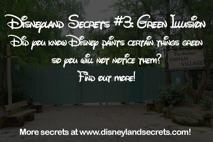 Disneyland Secrets #3: Green Illusion - Disneyland Secrets