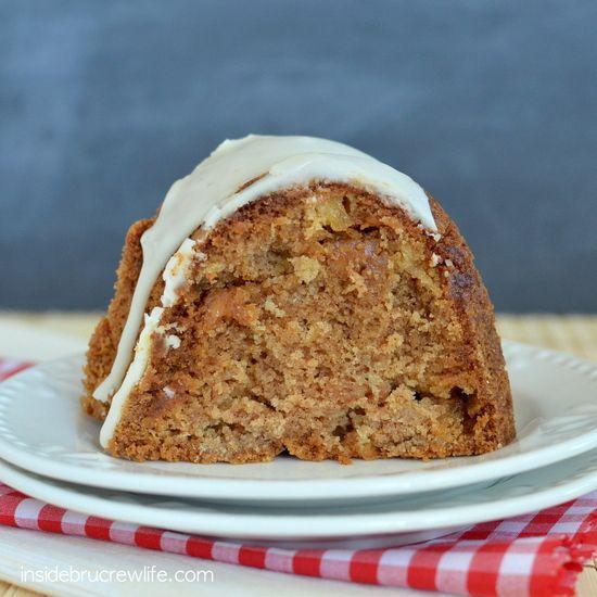 Caramel Apple Bundt Cake | Recipe | Bundt Cakes, Caramel Apples and ...