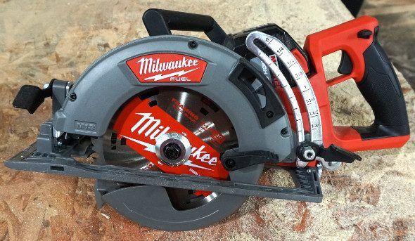 New Milwaukee M18 Fuel Rear Handle 7 1 4 Circular Saw