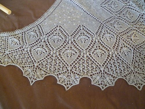 Ravelry: Rainy Day Shawl pattern by Anne-Lise Maigaard