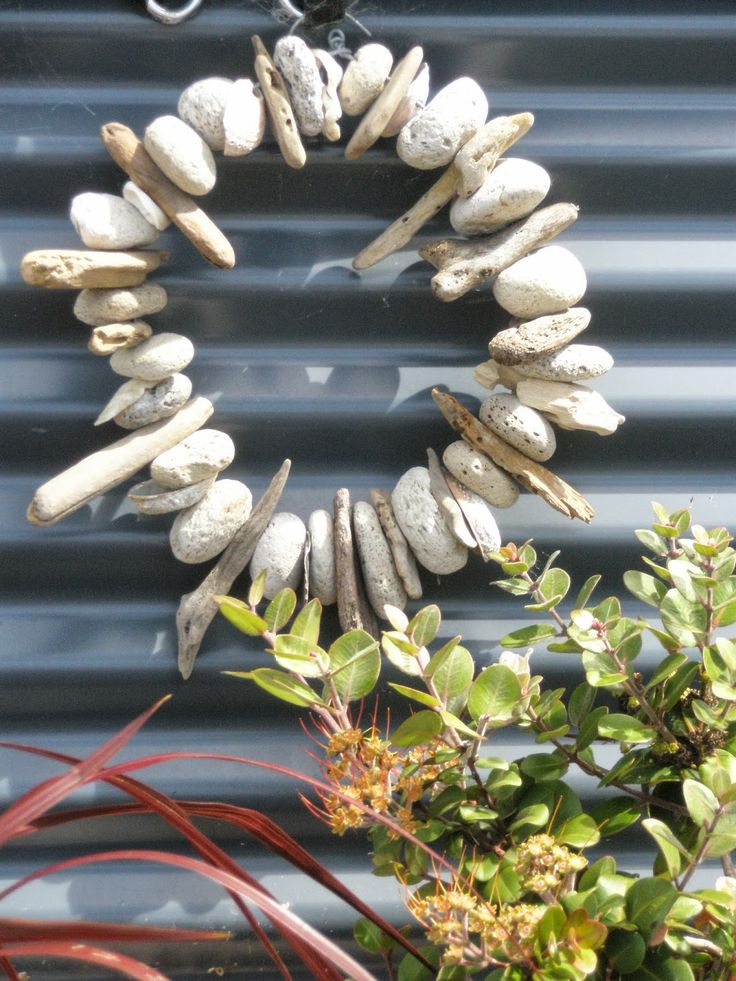 Arty Green in Paradise: Pumice and Driftwood Garden Art