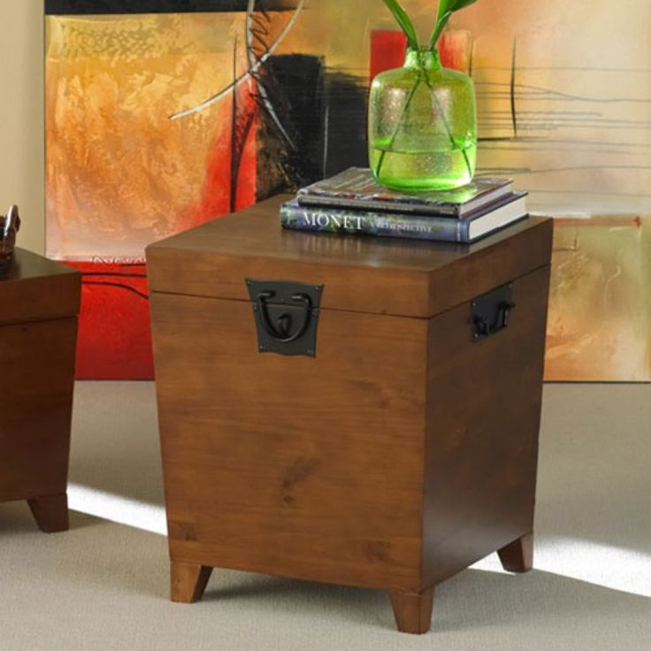 Southern Enterprises Pyramid Trunk End Table - CK1225T