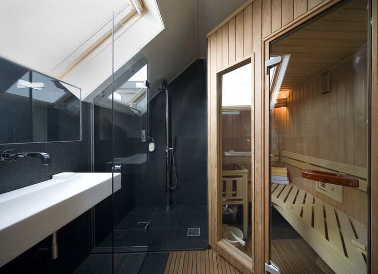 Sauna in your bathroom? Why not?;)