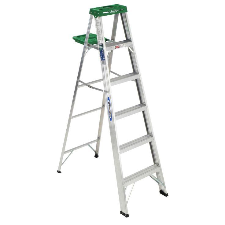 Werner 356 6' Step Ladder