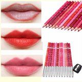 Generische 12 Farben Professionelle Lipliner Wasserdichte Lip Liner Lippenstift Lippenkonturenstift mit Deckel 15CM#Makeup#beauty#skincare#makeupartist#fashion#selfie#gift#cosmetics#kosmetik