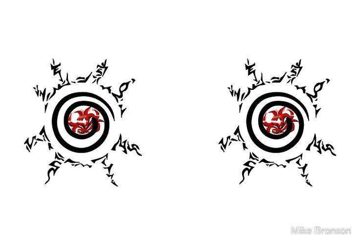 Nine Tail Kurama Under The Tetragram Seal